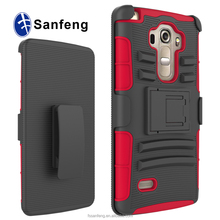 Factory Manufactury Price Combo Covers Cases For LG G4 Vista Swivel Belt Clip Cases For LG P1 Vista