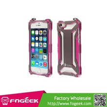 For iPhone 5s 5 Re-laxing Transformers Metal Aluminum Bumper Iron Man Case