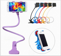 Factory wholesale cell phone holder Flexible Long Arm metal holder for iphone 6S for samsung Smart Mobile Phone Holder