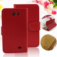 Low MOQ wallet case for samsung galaxy express i8730 flip cover