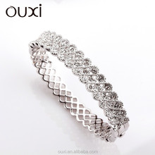 New arrival women's fashion Atmospheric bangle made with swarovski element Crystal 50043-1