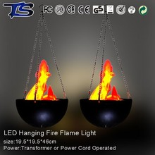2015 new products wedding decoration artificial hanging LED silk flame light with CE and RoHS