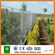 Powder coated 3D Welded Metal Fence from Shunxing Anping