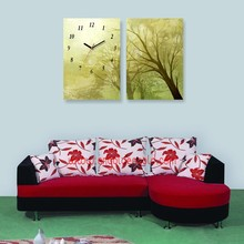 Fashion painting home decoration dial of clock