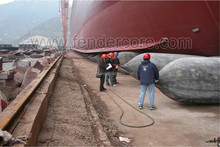 Marine Inflatable Rubber Airbags for heavy lifting, Batam shipyard ship launching airbag in various size