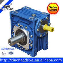 NRV025 7.5 : 1 ratio gearbox worm gear without input flange