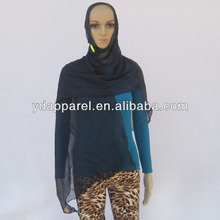 Hot Women Ladies Fashion georgette Plain Scarf Shawl Wrap