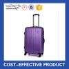 2015 purple new products cheap abs girls travel luggage