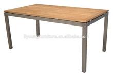 2015 recyled popular mesa de madera maciza lg-tk-803dt
