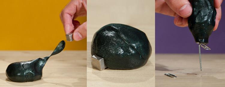 Магнитная пластилин как сделать