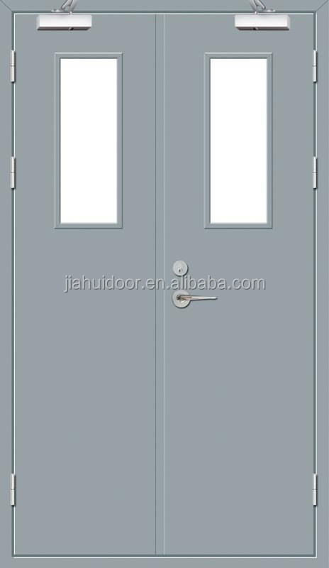 Fire Rated Steel Doors With Glass : Fire rated steel double door wh approved