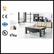Modern office table design HC-AT855 Furniture Frame Type modern steel office desk