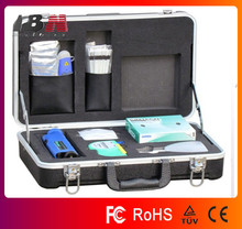 High quality Deluxe Fiber Optic Cleaning Kit With Inspection Scope 200X,fiber tool kits