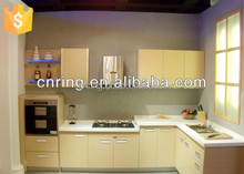 2015 affordable modern modular kitchen cabinets made in china