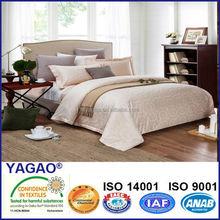100 cotton satin jacquard duvet cover/luxury european bedding set