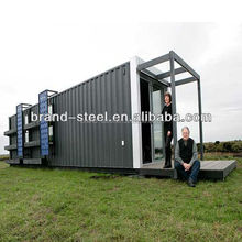 modular furnished container house with wheel for sale