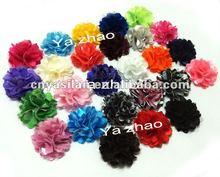 Mini cetim de malha flores em estoque YL02218