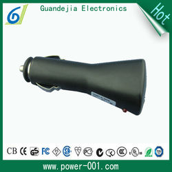 Portable high speed 5v 2a 9v 2a usb electronic car charger for Galaxy Tab