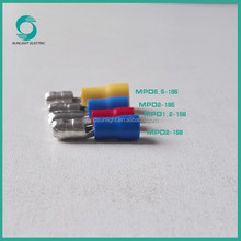 Red, Blue, Yellow, Black MPD series insulated bullet cable terminal battery
