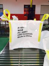 flat/ discharge spout bottom option (discharge) and 5:1 safety factor 1 ton bag 1000kg bag new pp fibc bag virgin chinese manufa