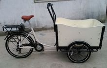 cheap and high quality electric cargo tricycle bicycle for sale