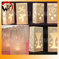 hot sales flame retardant wedding luminary candle bag