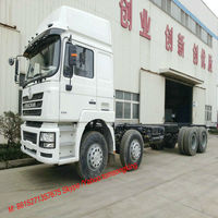 SHACMAN 31 T chassis Truck F3000 cab 8X4 truck 260~460HP Tom:008615271357675