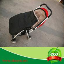 cheap warm high density sheepskin baby sleeping bag