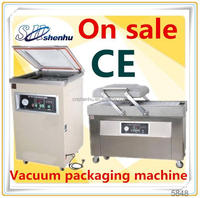 hot selling vertical vacuum packing machine for cashew kernel double chamber for fruit SH-400/2SA