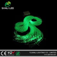China wireless remote control optic fiber light decoration