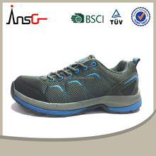 Latest men mesh spring cheap lightweight hiking shoes