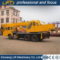 High quality hydraulic system 16 ton truck crane