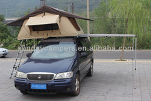 canvas car side awning for cars and trucks camping