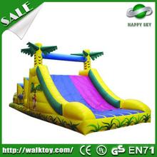 2015 New design toboggan inflatable slide,inflatable slides with frame,inflatable slide for inflatable pool
