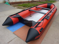 2016 Best selling CE Military inflatable boat with aluminum floor