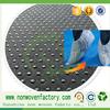 china best sales pp spunbond nonwoven fabrics dotted anti slip fabric