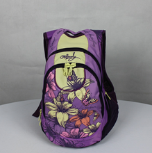 2015 promotion fashion beautiful unique leisure girl's backpack