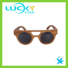Vogue round wooden sunglasses eco-friendly wood sunglasses uv400 accept paypal