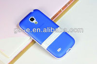 2013 newest style for Samsung Galaxy S4 i9190 clear color TPU stand smart cover case