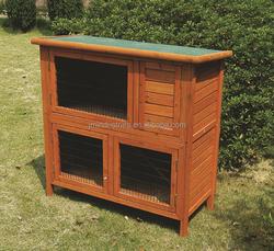 folding wooden rabbit house / large wooden rabbit run / pet cage