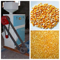 Best quality corn grits making machine with lowest price