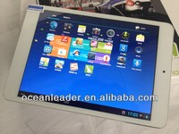 """High Definition and Configuration 7.85"""" Tablet PC for IPAD Screen,OCTPAD Quad Core Mini PC New Product 2013"""
