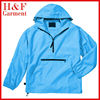 Mens foldable windbreaker jacket hooded in a pocket custom logo