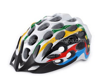 Cheap Price Multi-color Road Bike Bicycle Helmet/Cycling Helmets /PC and EPS plastic unibody bike helmet