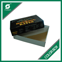 GLOSSY BLACK CARDBOARD COLOR BOX FOR PACKING VEGETABLES CORRUGATED CARTON BOXES WITH CUSTOM PRINT