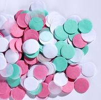 1 inch Pink Mint wedding biodegradable confetti balloon birthday party decorations