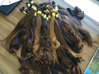AUTHENTIC NATURAL VIRGIN BRAZILIAN HAIR - TOP QUALITY IN THE WORLD