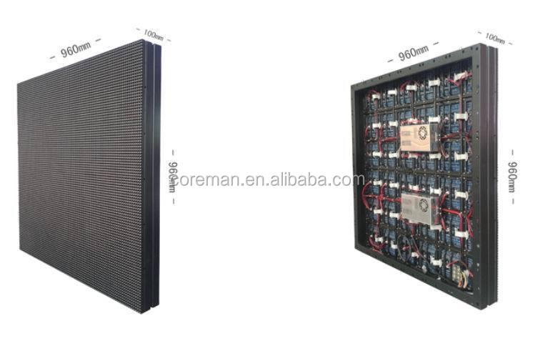 풀 컬러 SMD LED 2020 캐비닛 coreman p10/ RGB LED 디스플레이 LED 모듈 P8 ...