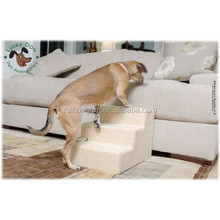 Three Steps Pet Dog or Cat Soft Covered Staircase dog staircase