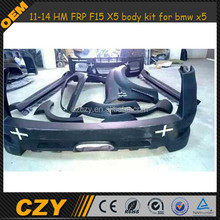 11-14 HM FRP F15 X5 body kit for bmw x5